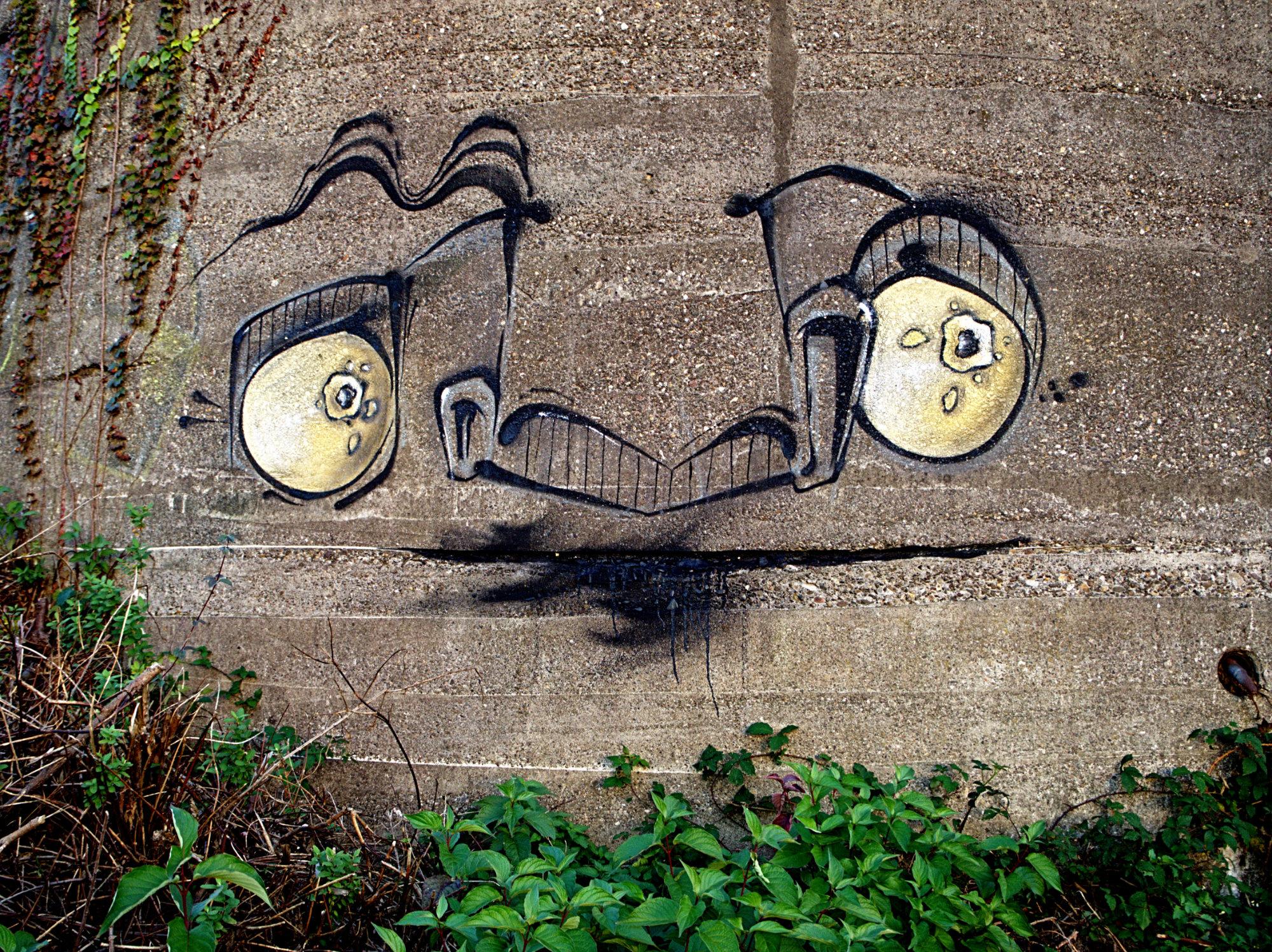 Graffiti Duisburg graffiti bunker krieg duisburg wedau detail joachim dudek