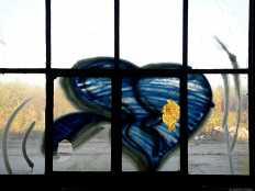 Fenster-Graffiti