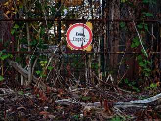 Kein Eingang