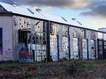 Fassade Montagehalle