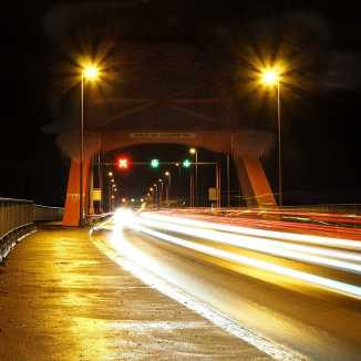 Duisburg - Brücke der Solidarität 1988