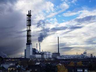 Duisburg - Stadtwerke - altes Kraftwerk