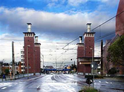 Duisburg - Schwanentor-Brücke