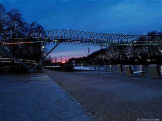 Oberhausen-Rehberger-Brücke am Kaisergarten