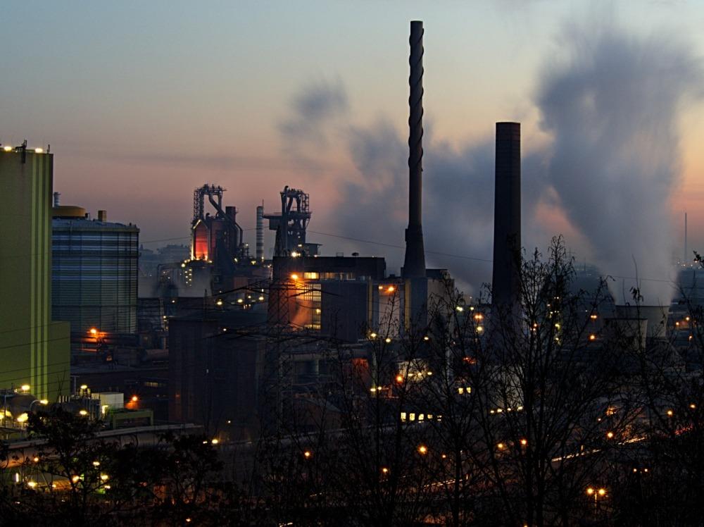 Hochofenanlage Thyssen Duisburg-Beeckerwerth