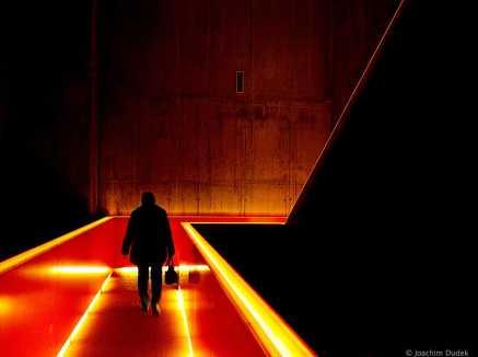 Treppe zum Ruhrmuseum