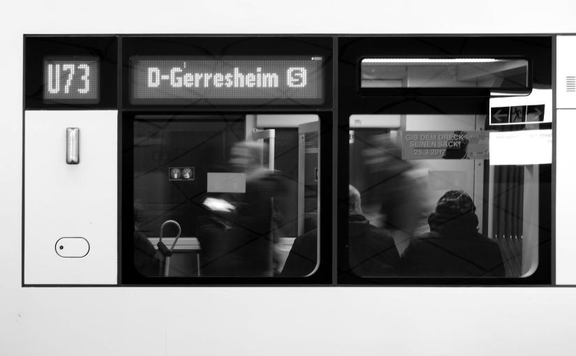´ne Besuch inDüsseldorf