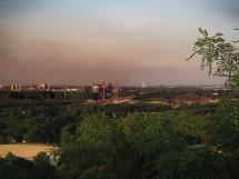Blick auf Duisburg Beeckerwerth