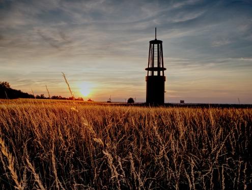 Sonnenuntergang Halde Rheinpreußen 1