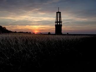 Sonnenuntergang Halde Rheinpreußen 2