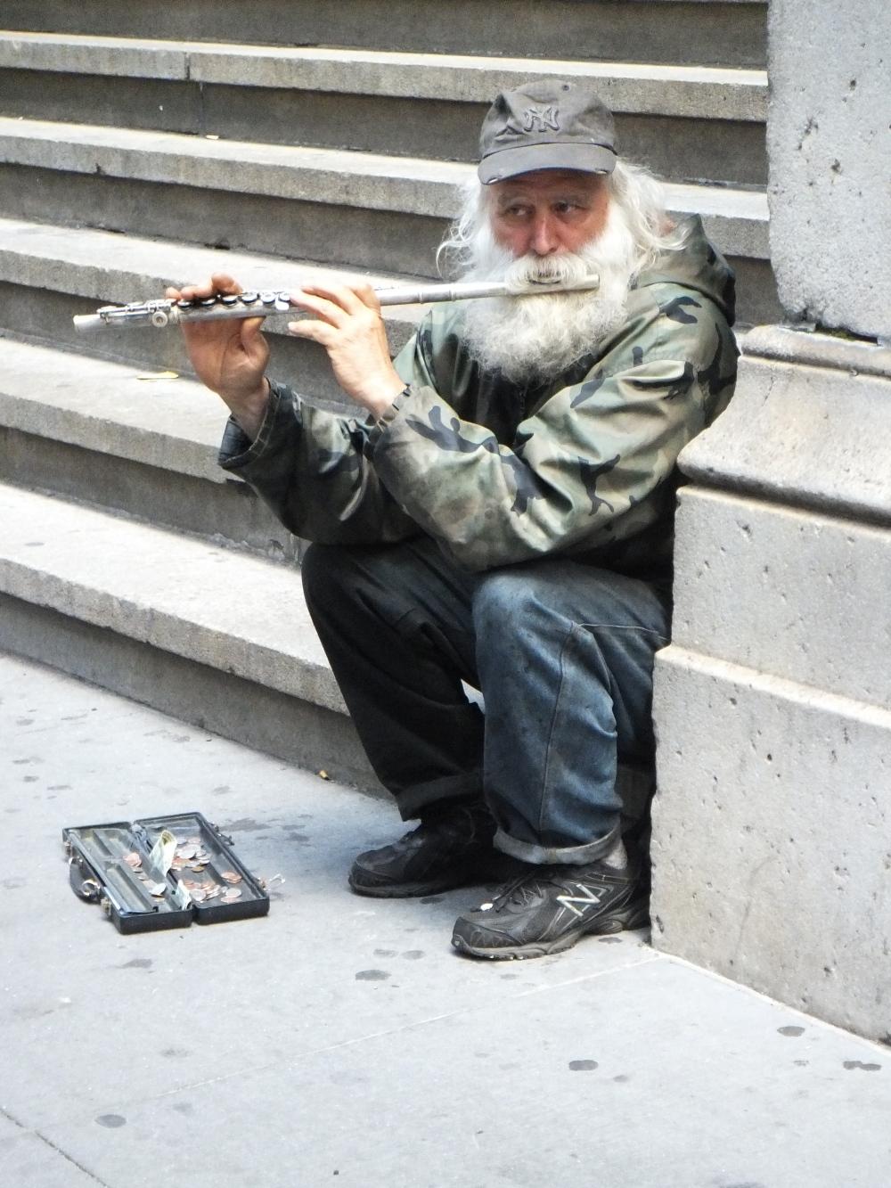 Musik auf der Wallstreet