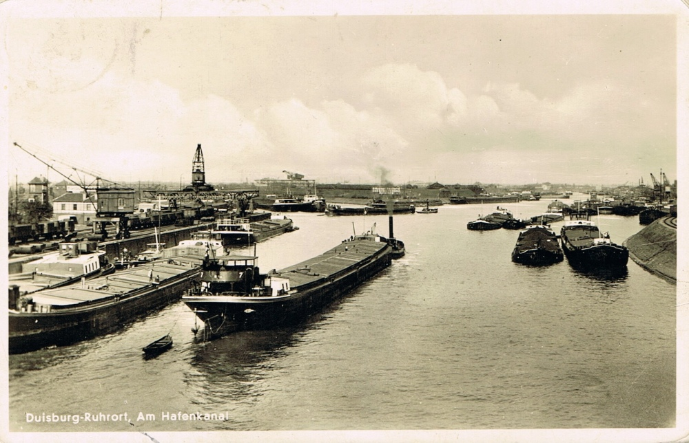1938 Duisburg - Am Hafenkanal