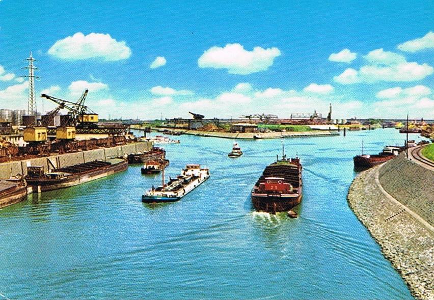1978 Duisburg Am Hafenkanal