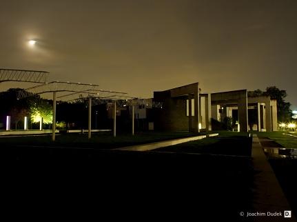 Garten der Erinnerung und das jüdische Gemeindezentrum