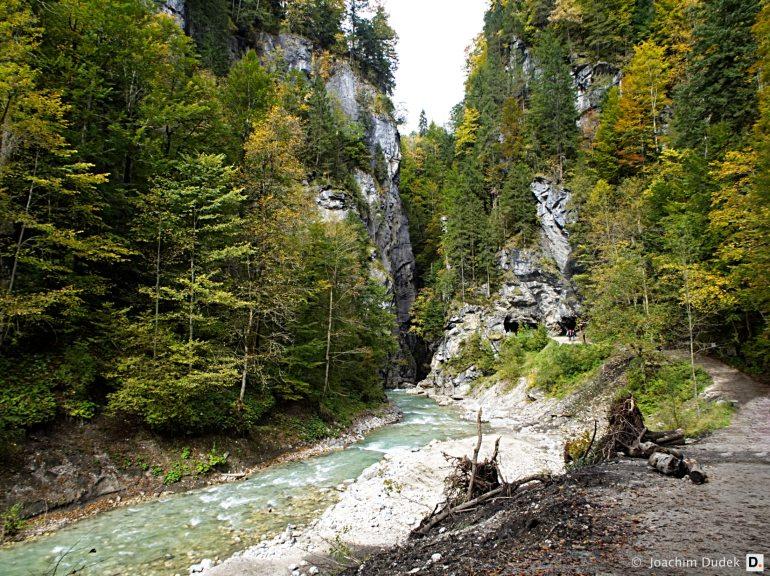 Partnach - Weg zum Klammeingang