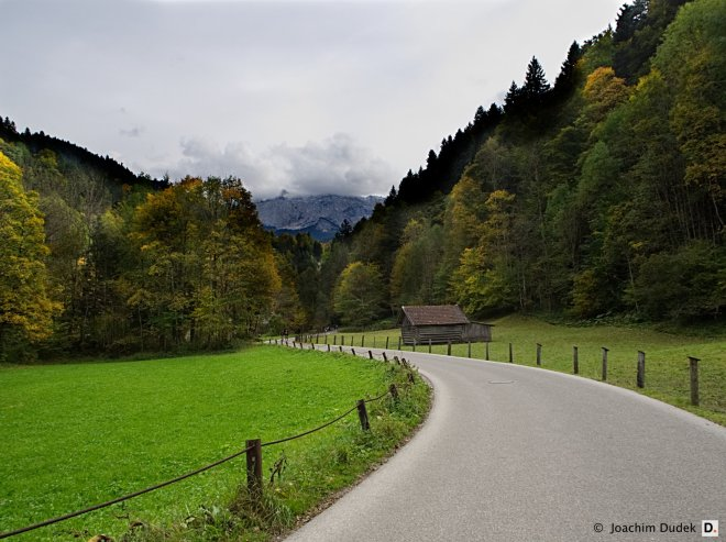 Weg nach Garmisch-Partenkirchen