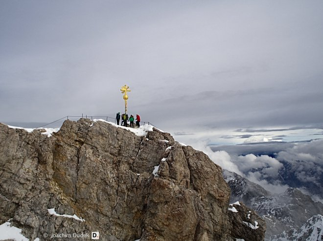 Gipfelkreuz Zugspitze