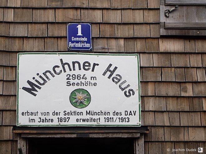 Münchner Haus Zugspitze