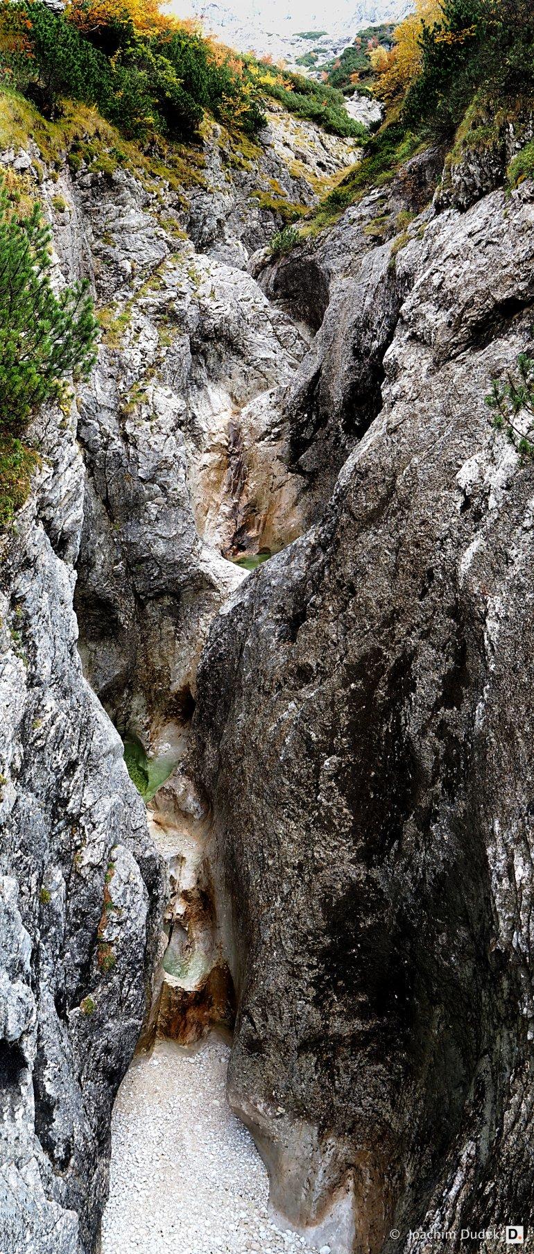 Wasserfall am Hupfleitenjoch