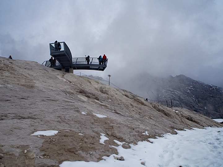 Aussichtspunkt am Zugspitzplatt
