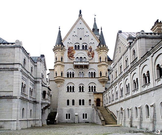 Innenhof Neuschwanstein