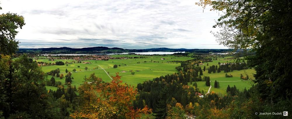 Panorama Forggensee-Schwangau