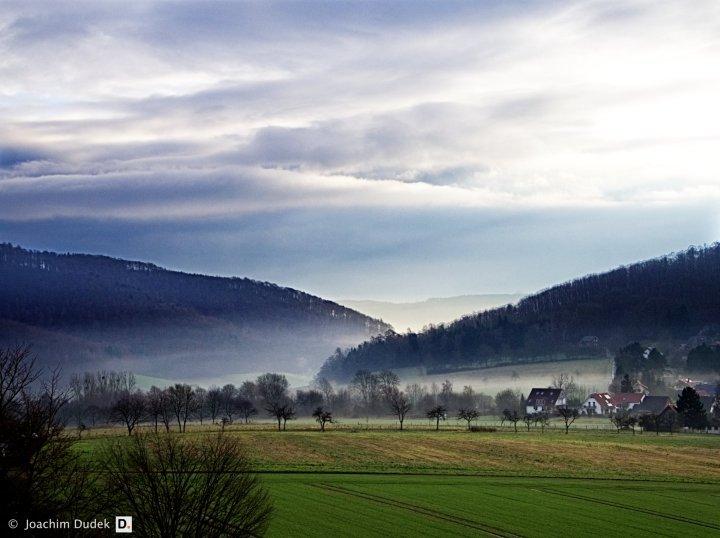 Bad Pyrmond - Morgennebel