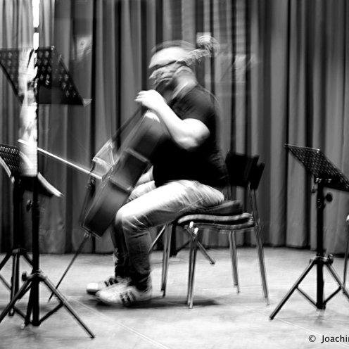 Cellospiel im Kurhaus
