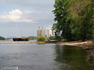 Rheinufer bei km 768