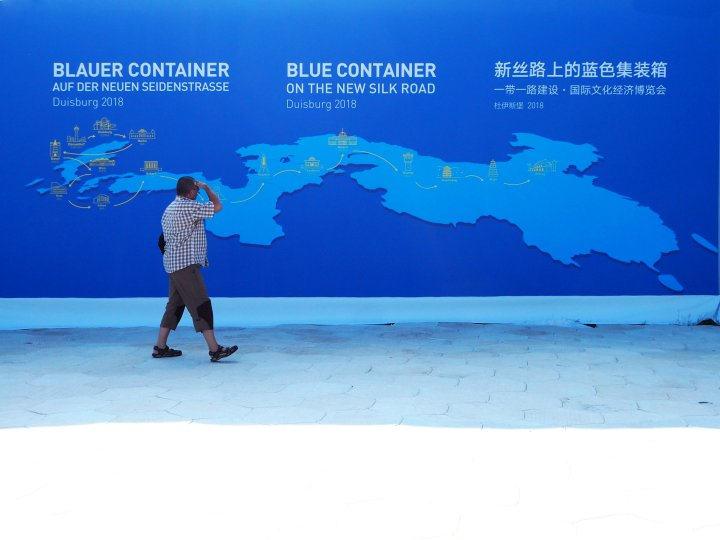 Blue Container