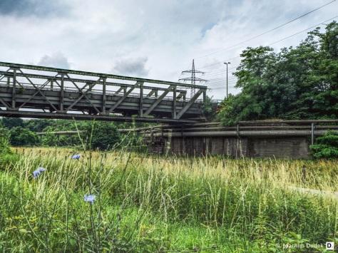 Brücke in Bruckhausen