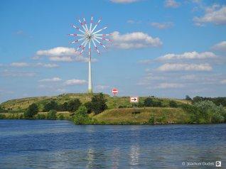 Windrad an der Ruhr