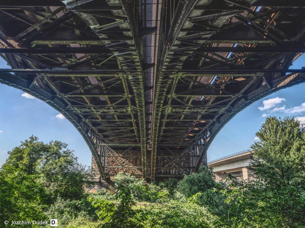 Eisenbahnbrücke über die Ruhr