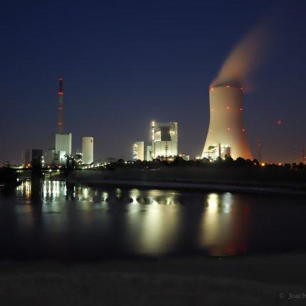Kraftwerk Walsum - Blutmond