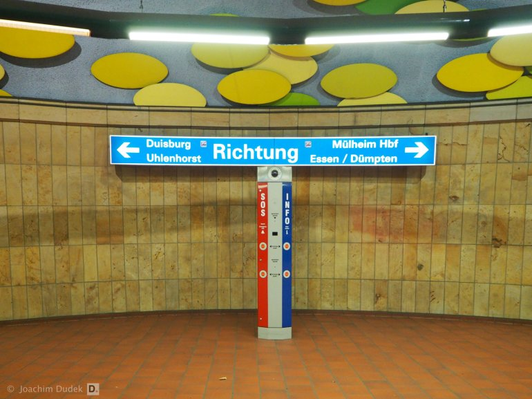 U-Bahn Haltestelle
