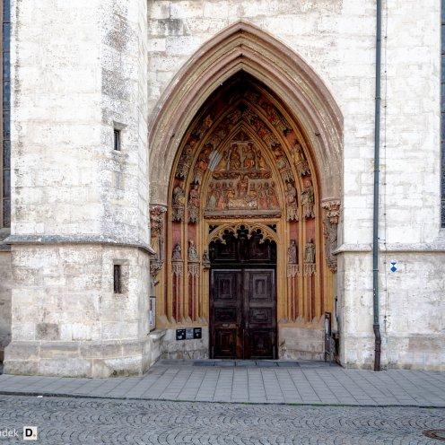 Dom Eichstätt - Eingang Domplatz
