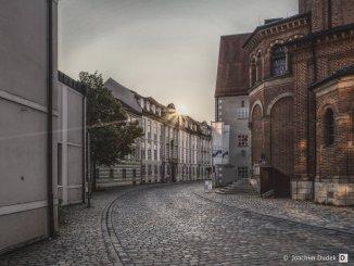 Luitpoldstraße - Blick Richtung Residenzplatz