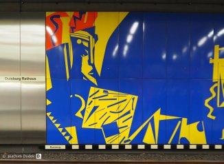 Bahnhof Rathaus - U-Bahn Duisburg