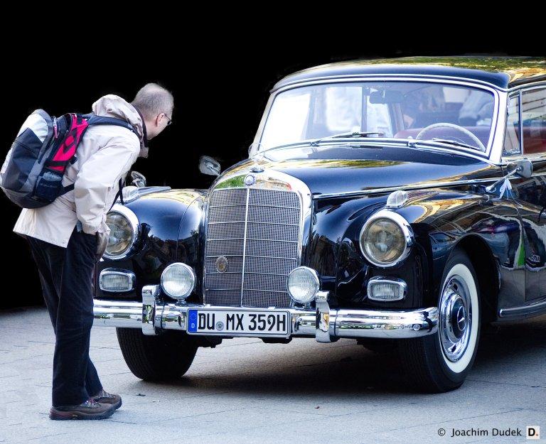 Oldtimer-Ausstellung Mercedes W 186