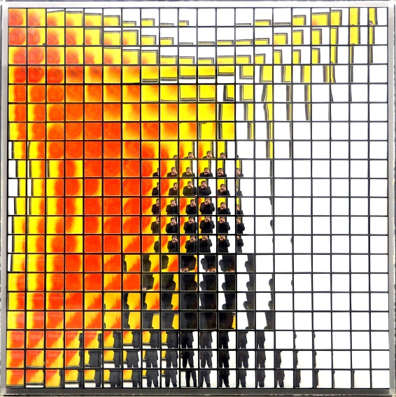 ENERGETISCHE PLASTIK von ADOLF LUTHER 1985