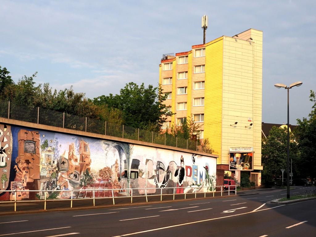 Gelbes Haus in Essen