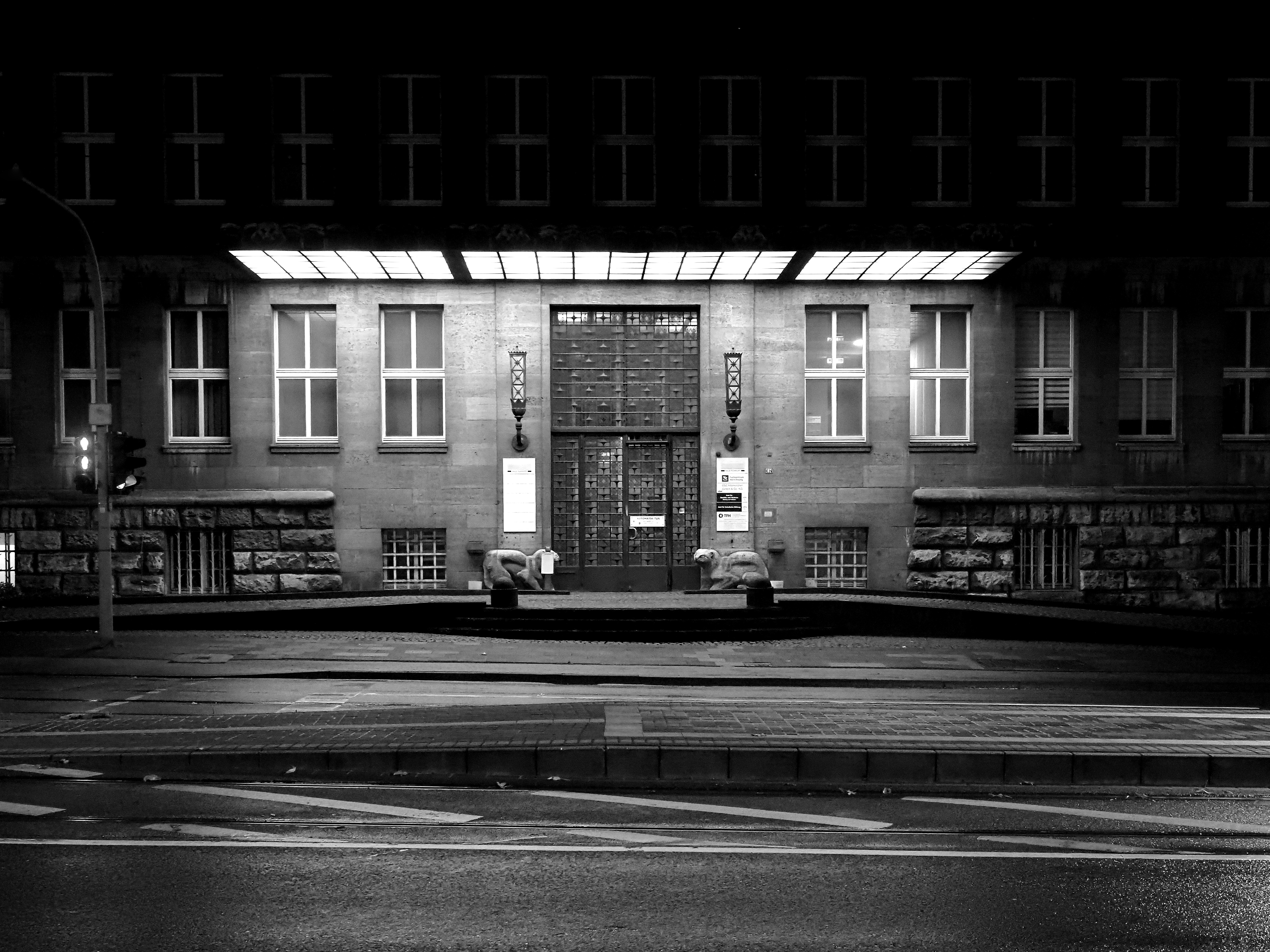 Eingang Tausendfensterhaus